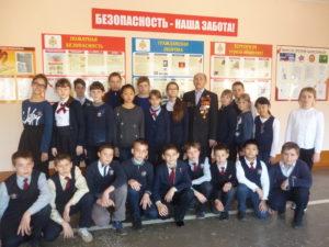 Встреча с участником ликвидации аварии на Чернобыльской АЭС
