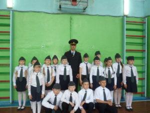 Парад юнармейских отрядов